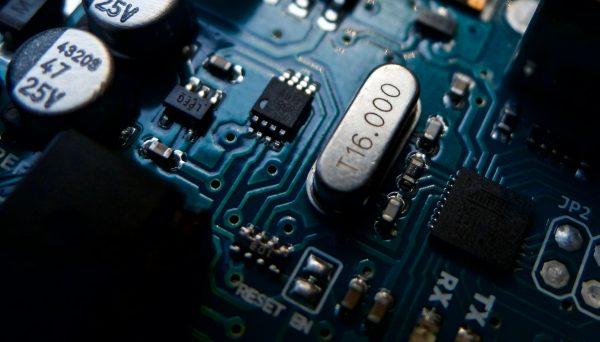 Photo of circuitboard