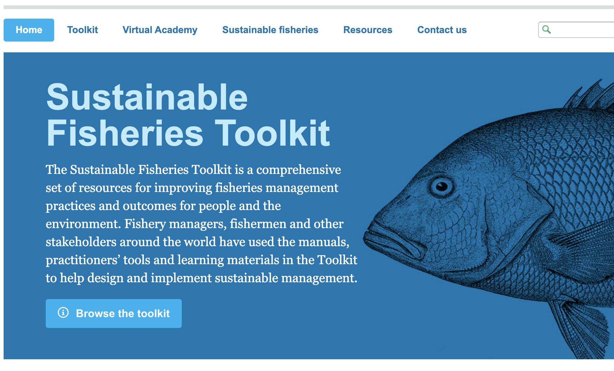 Sustainable Fisheries Toolkit