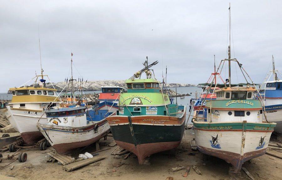 boats in Peru