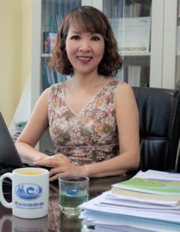 headshot of Ms. Ho Thi Yen Thu