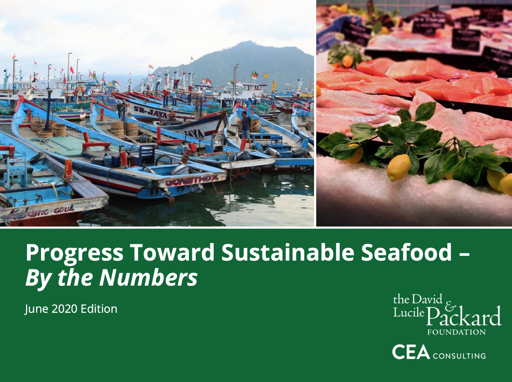 Progress Toward Sustainable Seafood – By the Numbers