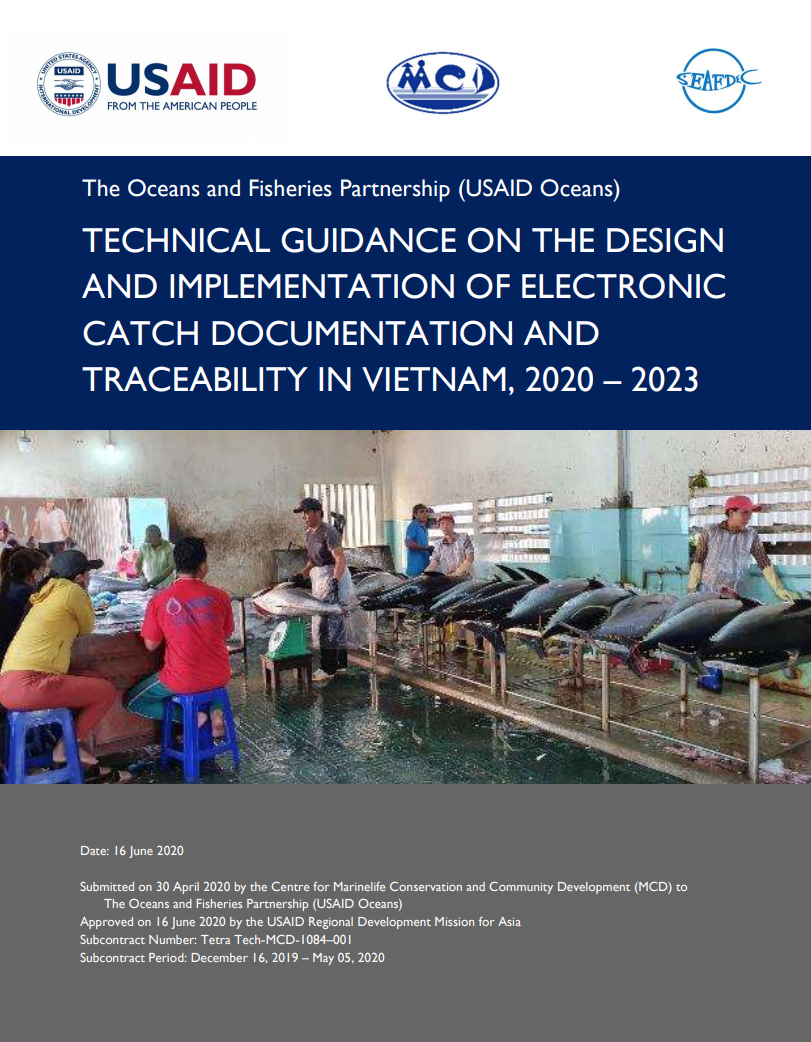 Technical Guidance on the Design and Implementation of Electronic Catch Documentation and Traceability in Vietnam