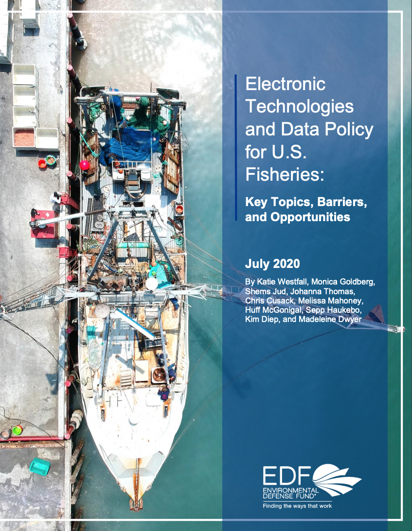 Electronic Technologies and Data Policy for U.S. Fisheries: Key Topics, Barriers, and Opportunities