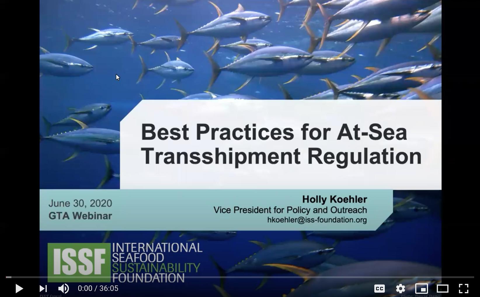 Transshipment Best Practices