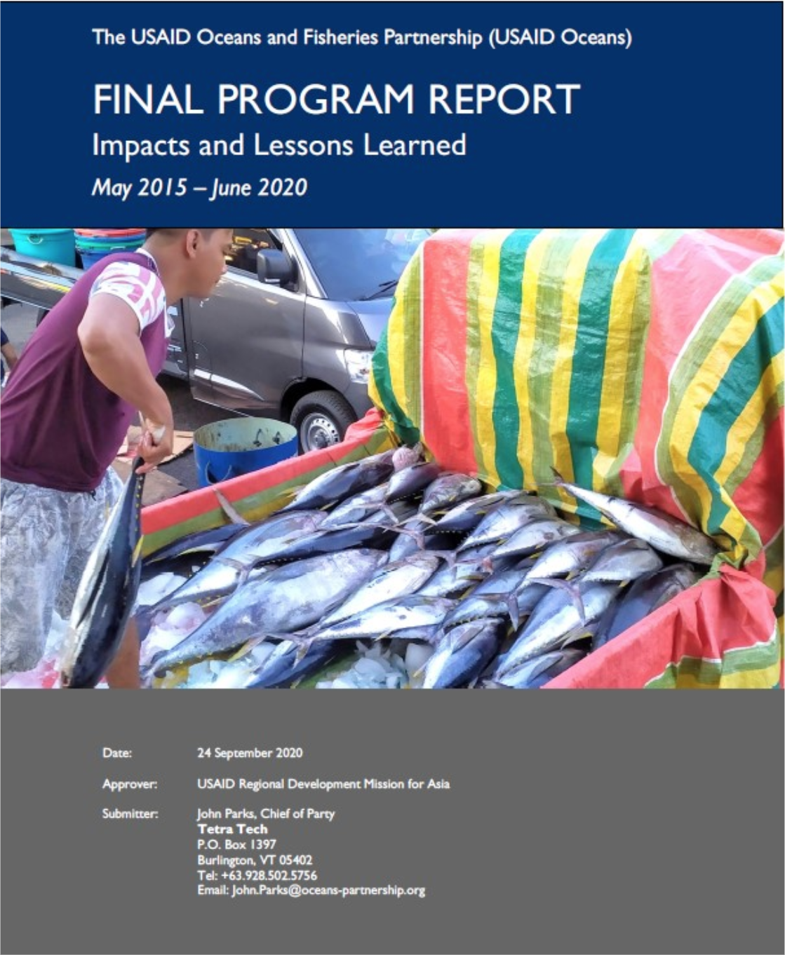 Final Program Report: Impacts and Lessons Learned
