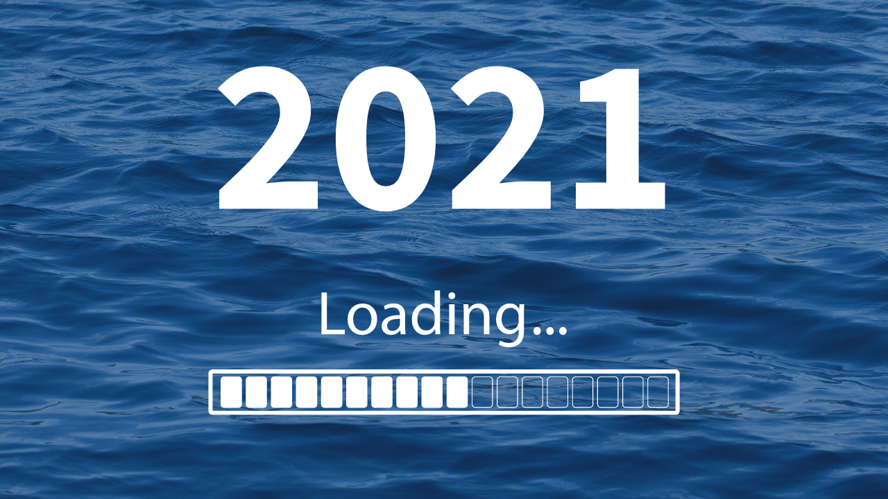 2021 showing loading like a computer program