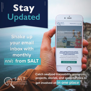 Stay Updated, shake up your email inbox with monthly news from SALT