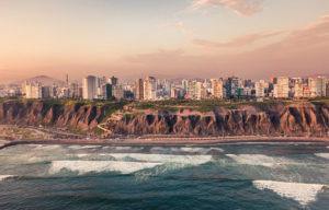 Lima, Peru coastline