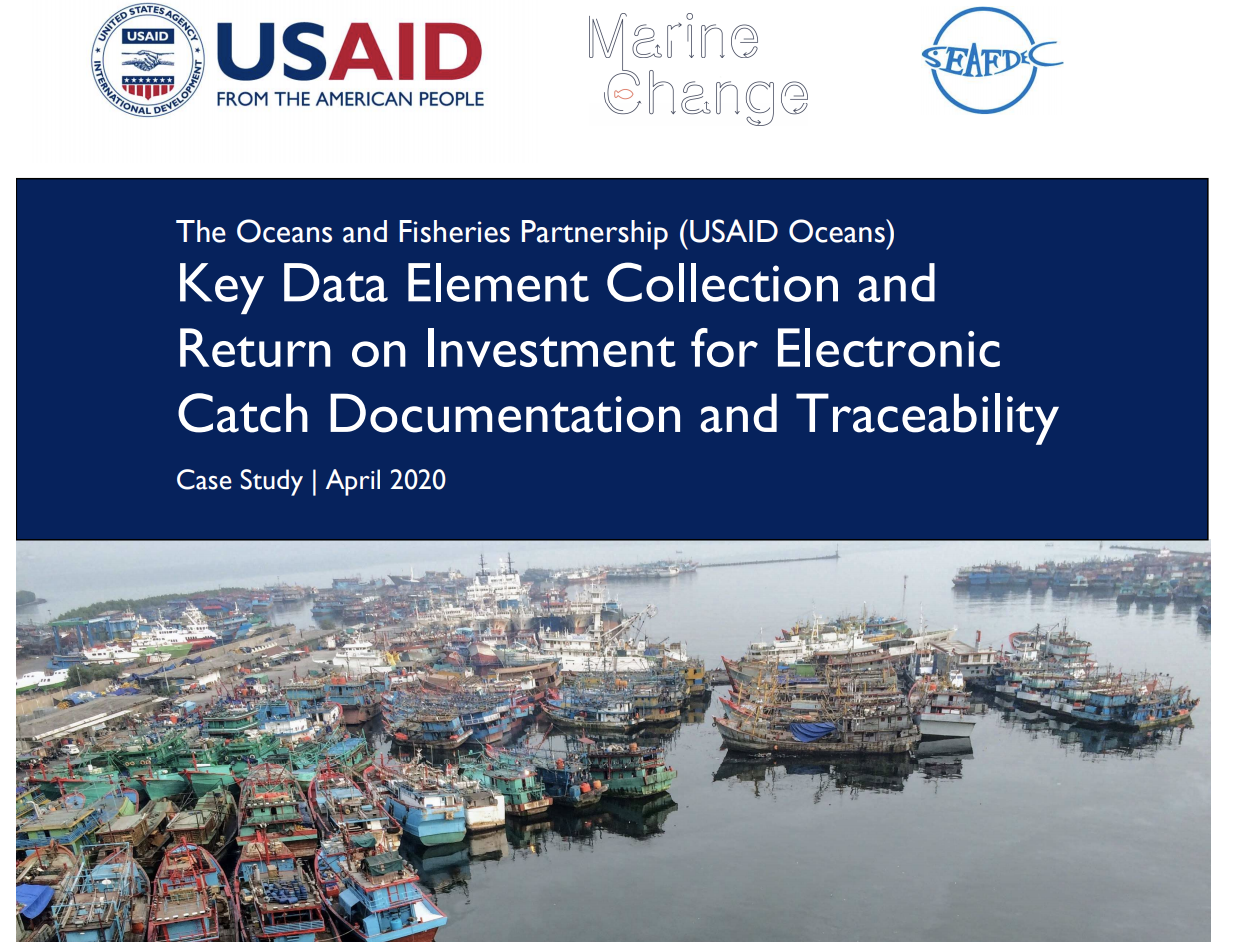 Key Data Element Collection and Return on Investment for Electronic Catch Documentation and Traceability