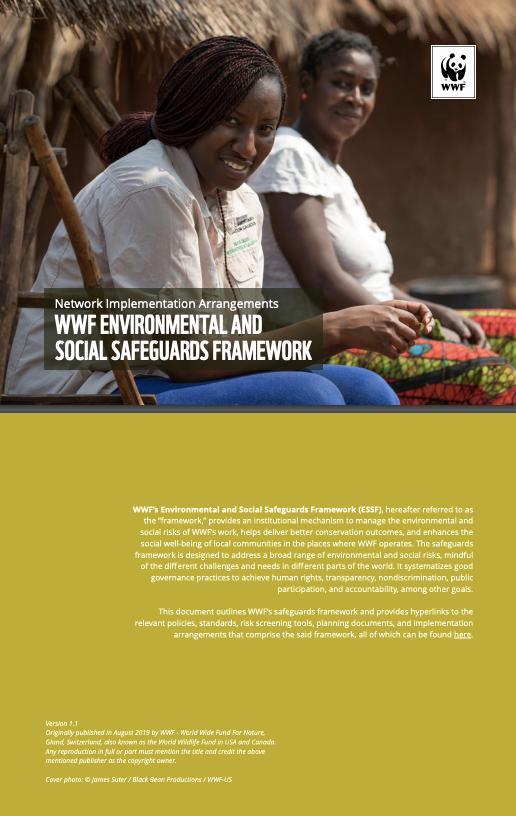 Environmental and Social Safeguards Framework