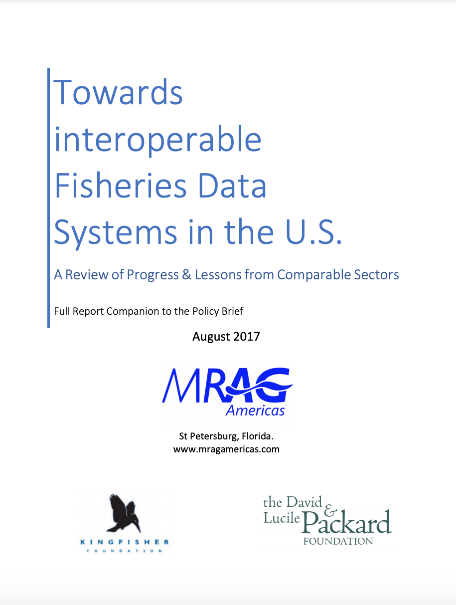 Towards Interoperable Fisheries Data Systems in the U.S.