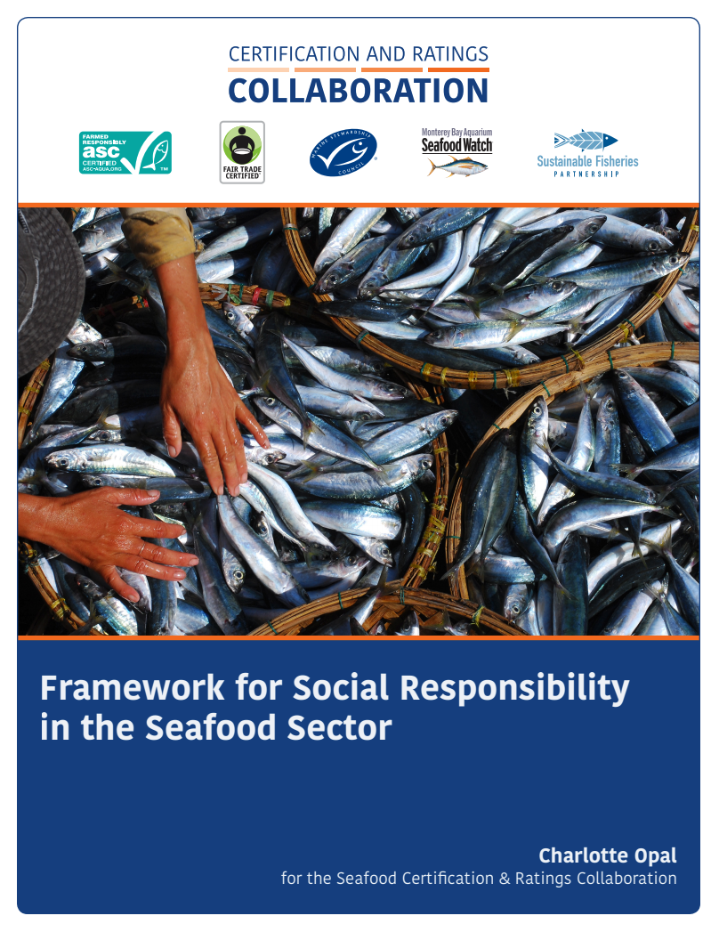 Framework for Social Responsibility in the Seafood Sector