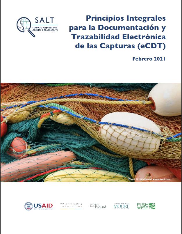 Principios Integrales para la Documentación y Trazabilidad Electrónica de las Capturas (eCDT)