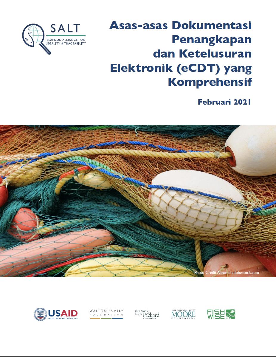Asas-asas Dokumentasi Penangkapan dan Ketelusuran Elektronik (eCDT) yang Komprehensif