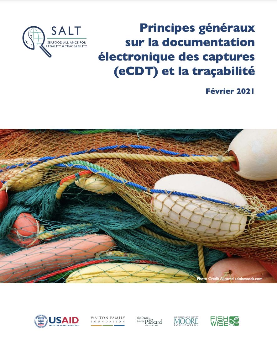 Principes généraux sur la documentation électronique des captures (eCDT) et la traçabilité