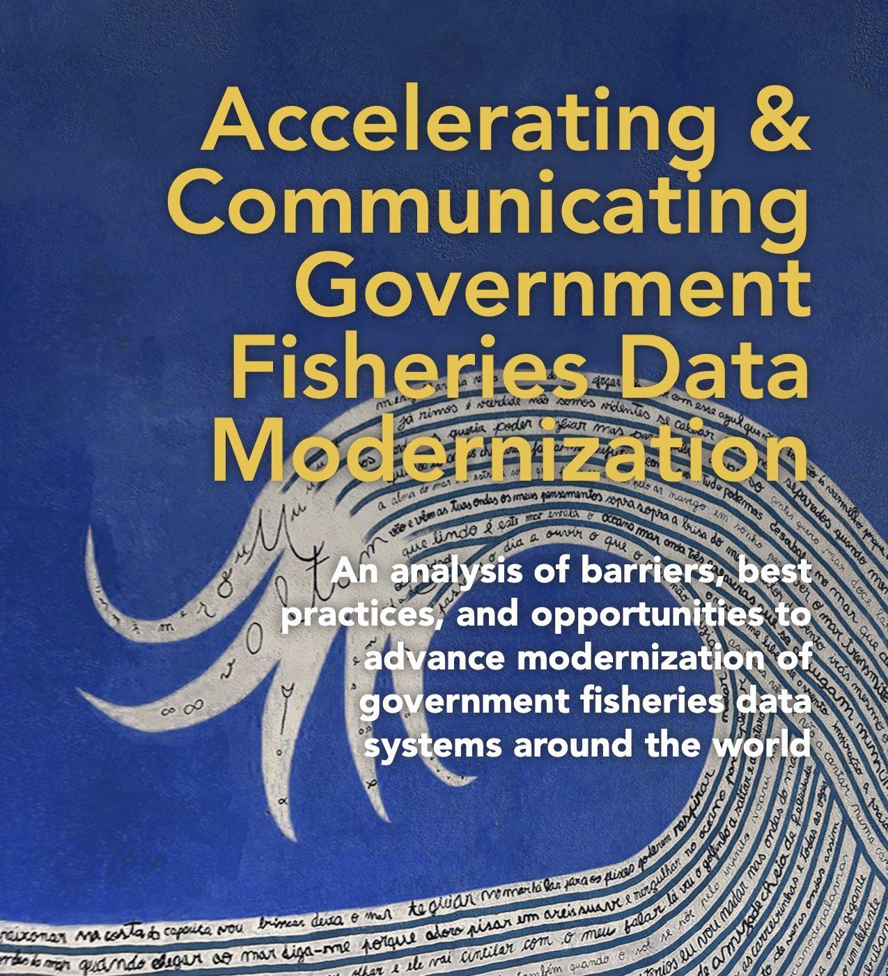 Government Fisheries Data Modernization Resources