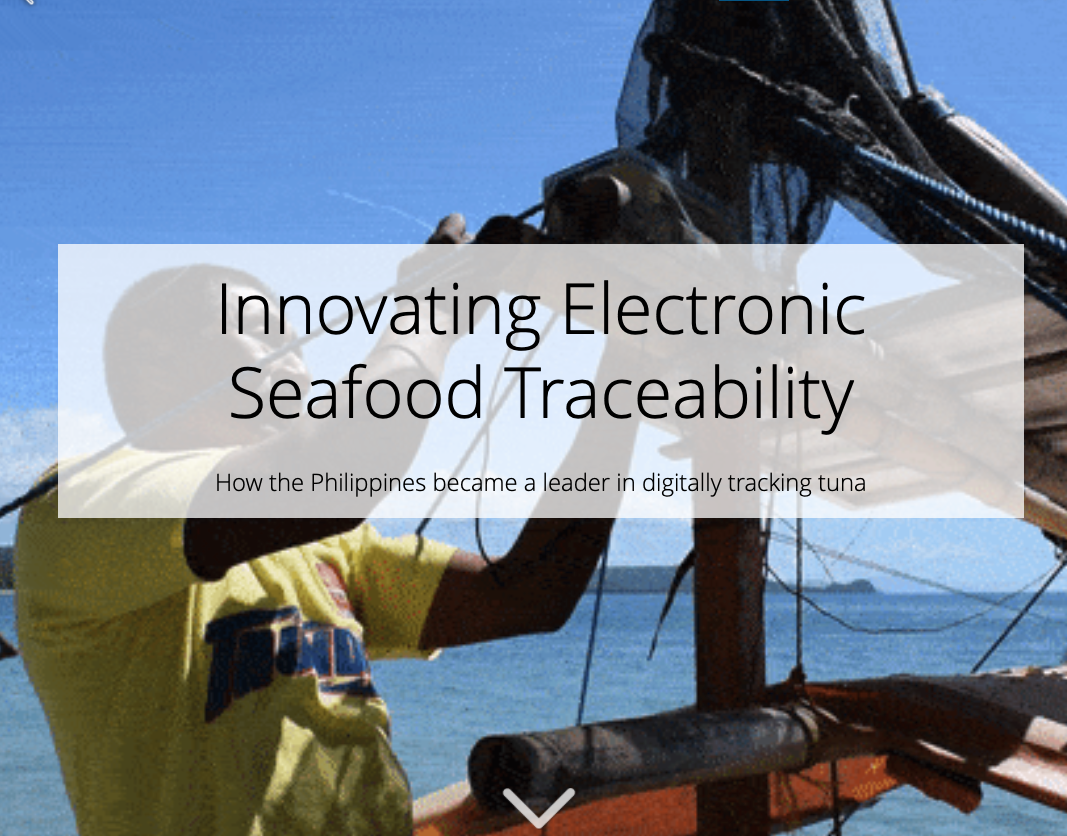 Philippines' Journey to Electronic Traceability