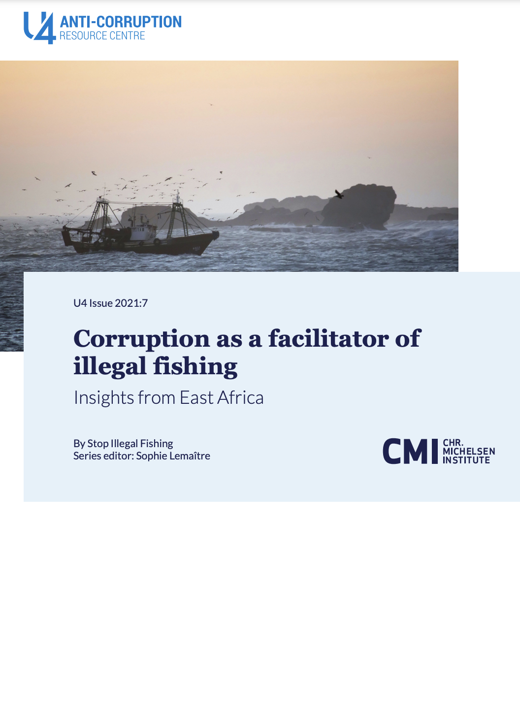 Corruption as a Facilitator of Illegal Fishing: Insights from East Africa